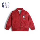 Gap男幼童童趣迪士尼棒球領外套520289-摩登紅色