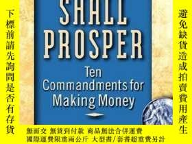 二手書博民逛書店Thou罕見Shall ProsperY256260 Rabbi Daniel Lapin Wiley 出版