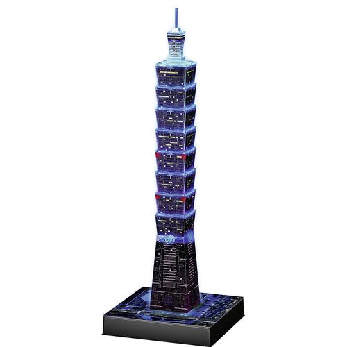 德國Ravensburger維寶3D拼圖 發光台北101(216P)