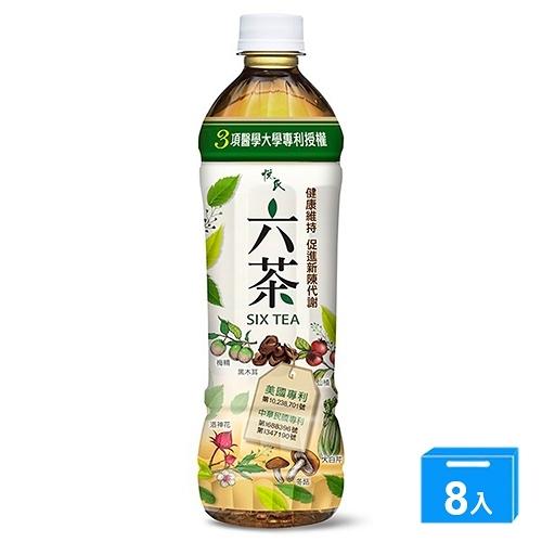 悅氏六茶550ML*4入【兩入組】【愛買】