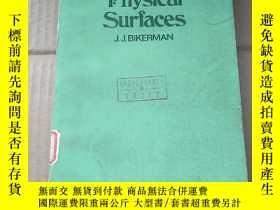 二手書博民逛書店physical罕見surfaces(P935)Y173412