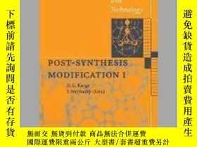 二手書博民逛書店Post-Synthesis罕見Modification IY405706 Hellmut G. Karge