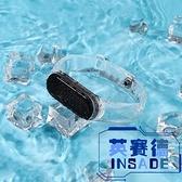 【兩個裝】適用小米手環腕帶替換表帶透明手環腕帶金屬雙色個性運動防水潮【英賽德3C數碼館】