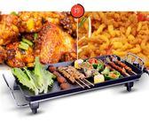 110V專用電烤盤正韓多功能不粘鍋電煎燒烤盤QM 維娜斯精品屋