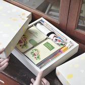 手帳本日式韓國可愛小清新彩頁學生朋友生日禮物手賬本子套裝禮盒【販衣小築】