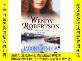 二手書博民逛書店Jagged罕見Window: A dramatic saga of family a...-參差不齊的窗戶:一個