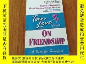 二手書博民逛書店TEEN罕見LOVE ON FRIENDSHIP 青少年對友誼的