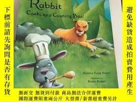 二手書博民逛書店Rabbit罕見Cooks Up a Cunning PlanY