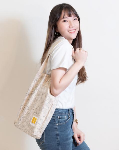 AIDC花紋環保提袋
