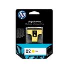 HP NO.02 02 黃色 原廠墨水匣 盒裝 PS3110/3310/C5180/C6180/C6280/C7180/C7280