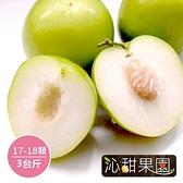 沁甜果園SSN.珍蜜爆漿蜜棗(17-18顆/3台斤)﹍愛食網
