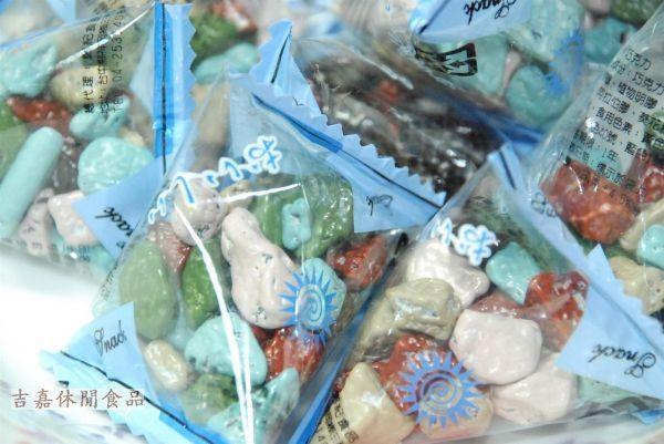 【吉嘉食品】石頭巧克力(單包裝) 600公克 {5330-44}[#600]