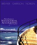 二手書博民逛書店《Introduction to Managerial Acco