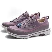 SKECHERS 健走鞋 GO WALK 5 -PERFECT STEP 藕粉色 網布 皮革拼接 女 (布魯克林) 124228MVE