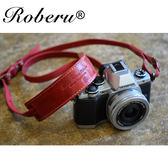 經典皮革_相機背帶【日本 ROBERU】適微單眼相機