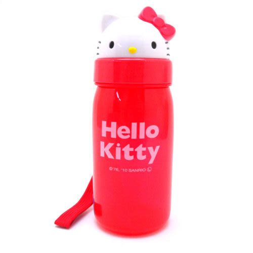 Kitty 吸管水壺 350ml