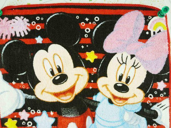 【震撼精品百貨】Micky Mouse_米奇/米妮 ~小方巾-橫條
