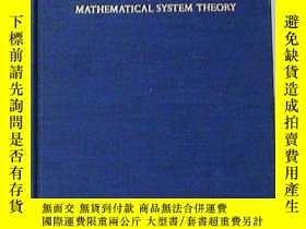 二手書博民逛書店Topics罕見In Mathematical System TheoryY255562 Rudolf E.