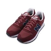 NEW BALANCE NB500 復古休閒鞋 酒紅藍 GM500VE1 男鞋