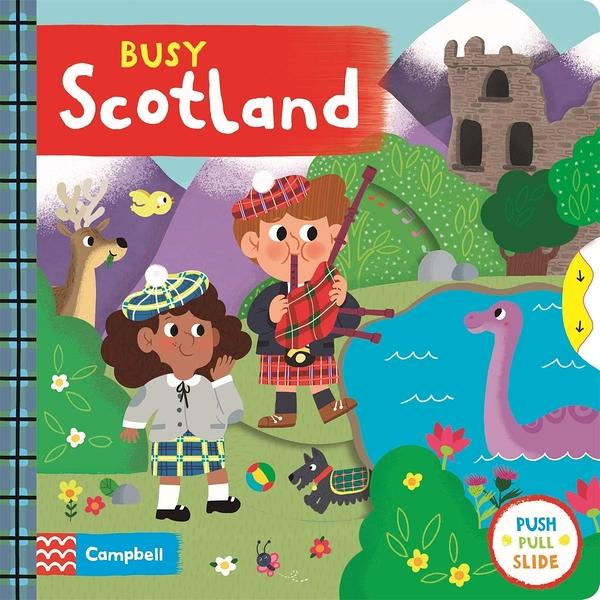 Busy Scotland 忙碌的蘇格蘭操作書