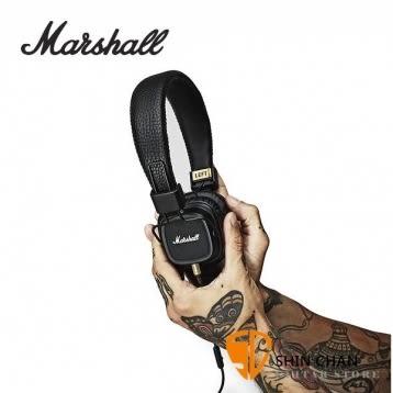 英國 Marshall Major II (經典黑)有線耳機/內建麥克風 耳罩式耳機 送英國倫敦吉他Pick組