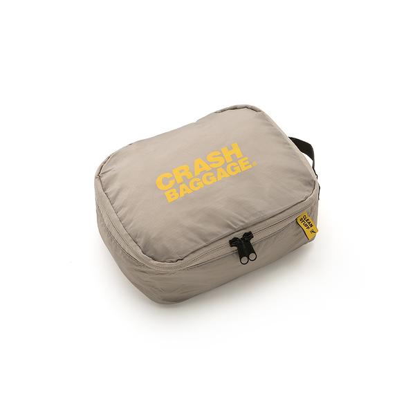 【75 折全新品清倉優惠】Crash Baggage 22x17.5cm 旅行收納系列 衣物分裝 機能 拉鍊收納袋 - 小尺寸