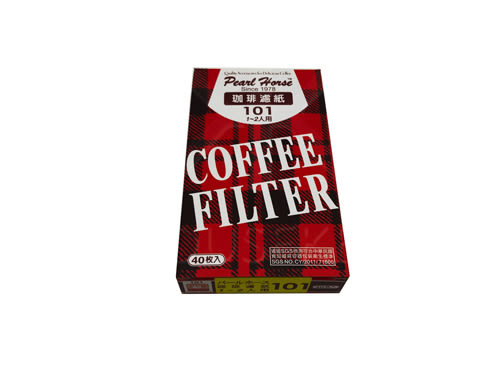 【好市吉居家生活】日本寶馬牌 JA-P-001-004 101咖啡濾紙 1-2人 40入 濾杯 梯形濾紙
