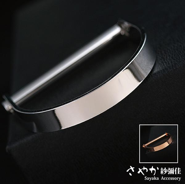 手環 Dazzling 金屬寬版手環-日雜熱推  【日本飾品-Sayaka】