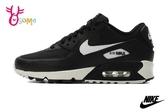 NIKE WMNS AIR MAX 90 成人 男女款 情侶鞋 運動鞋 慢跑鞋 休閒運動鞋 P7009#黑白◆OSOME奧森鞋業