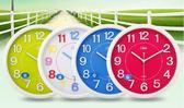 康巴絲14英寸時尚簡約掛鐘臥室客廳辦公靜音時鐘掛錶創意石英鐘錶    提拉米蘇