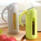 油壺自動開合玻璃油壺油瓶家用廚房用品油罐防漏醋壺裝油瓶醬油調料瓶