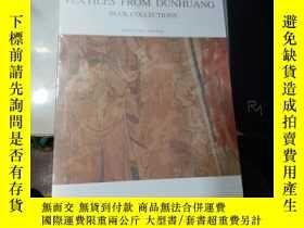 二手書博民逛書店【罕見】TEXTILES FROM DUNHUANG(敦煌絲綢藝
