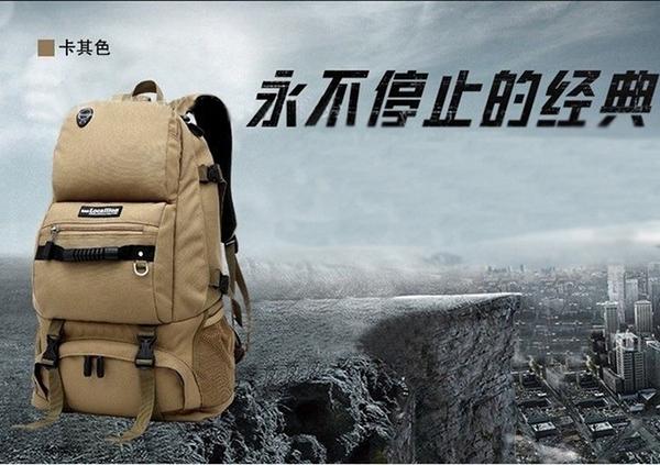 【JAR嚴選】歐美外銷Locallion 55L 減壓雙肩登山包 運動旅行包