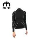 mico  女無縫單向導濕高領保暖衣1841  / 城市綠洲 (運動機能、登山、跑步、旅行、滑雪)
