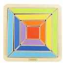 彩色方環拼圖