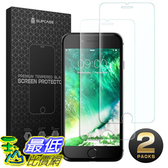 [106美國直購] 手機螢幕保護膜 SUPCASE iPhone 8 Screen Protector iPhone 7 Screen Protector Premium HD Tempered Glass