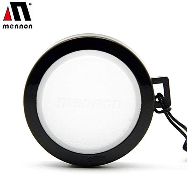 【南紡購物中心】美儂Mennon白色白平衡蓋46mm鏡頭蓋白色WBLCΦ46白平衡鏡頭蓋white balance cap