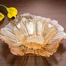 尺寸超過45公分請下宅配中式水晶玻璃水果盤現代 客廳 家用糖果盤