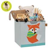【雙12出清】德國Lassig-玩具儲物箱-小狐狸