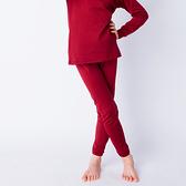 兒童保暖褲 發熱保暖 3M吸排技術 保暖褲 酒紅