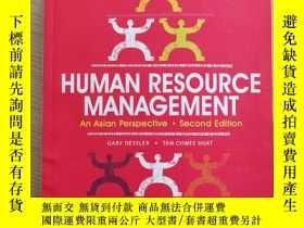 二手書博民逛書店Human罕見resource management:an asian perspectiveY264383