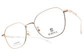 SEROVA光學眼鏡 SE SL519 C1 (金-透明) 中性韓風設計款  #金橘眼鏡