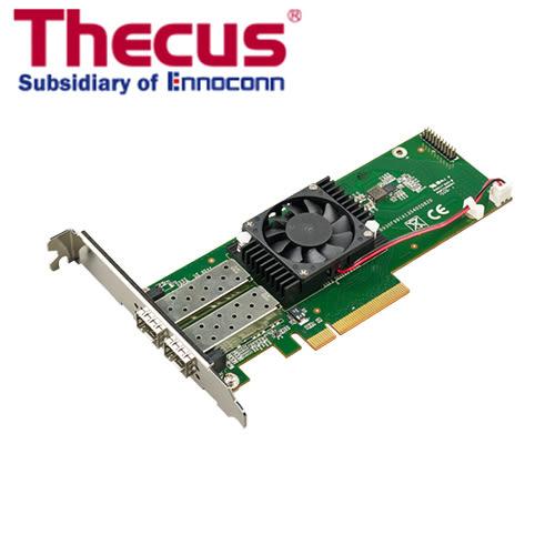 色卡司 Thecus C10GI599F2 10Gb 雙連接埠10GbE 光纖網路 擴充卡