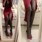 新款綢緞蝴蝶結女情趣性感騷床上細跟尖頭大碼高跟鞋偽娘反串 JRM簡而美