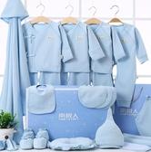 新生兒禮盒 0-3個月嬰兒衣服初生男女寶寶用品新生兒滿月禮盒套裝6 - 雙十一熱銷