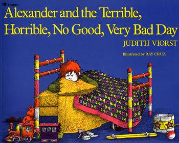 【麥克書店】『小熊媽的經典英語繪本』ALEXANDER AND THE TERRIBLE HORRIBLE NO GOOD VERY BAD DAY /英文繪本
