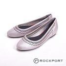 Rockport 真皮休閒平底女鞋-白...