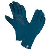 [好也戶外]mont-bell Trail Action Gloves 男款可觸控保暖手套/黑/藍 NO.1118269/BK/BLBK
