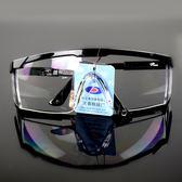羅卡防護眼鏡擋風鏡打磨防飛濺工業灰塵粉塵勞保工作透明護目鏡~ 八五折~