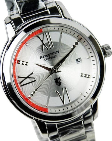 【Arseprince】純淨星辰經典中性錶-銀色